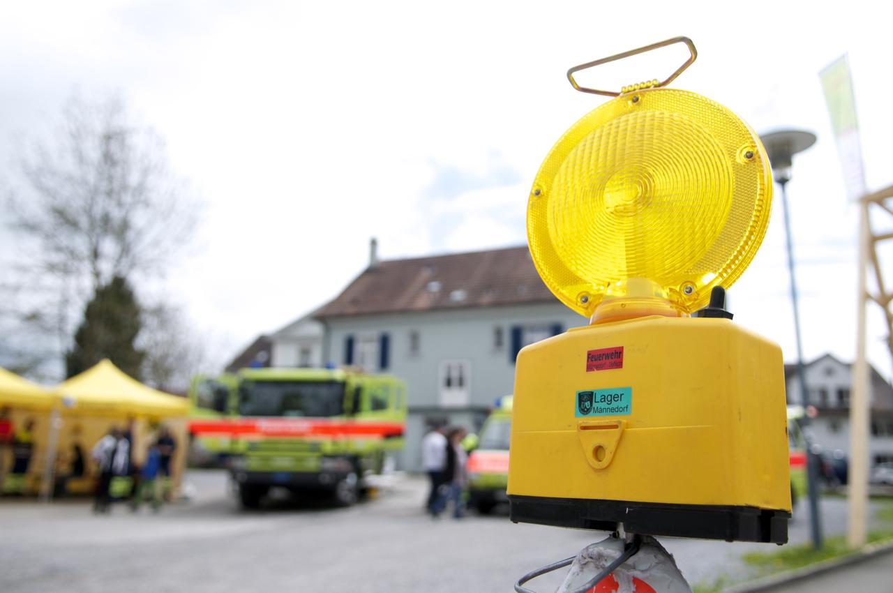 Feuerwehr Männedorf-Uetikon am See an der Viva Uetikon 2013