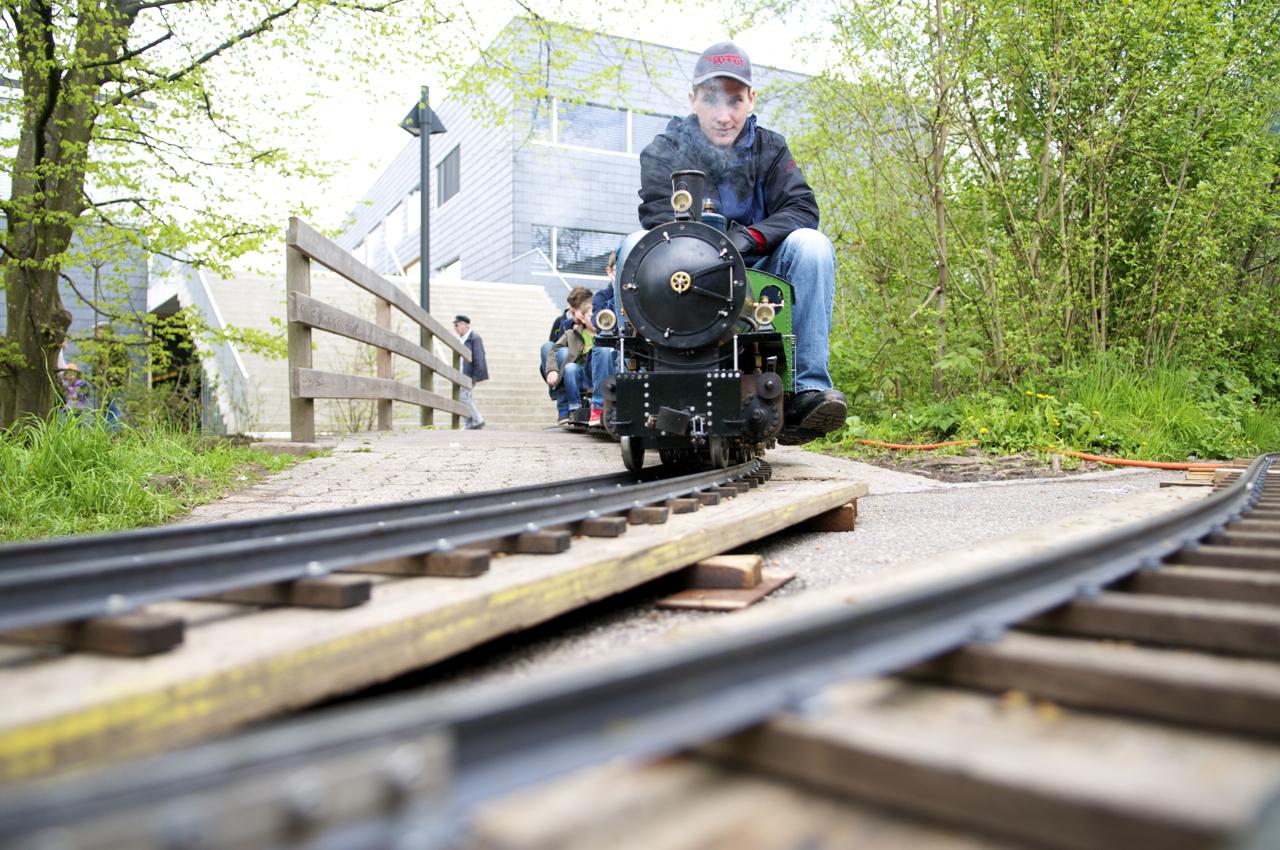 Kinder-Lokomotive an der Viva Uetikon 2013