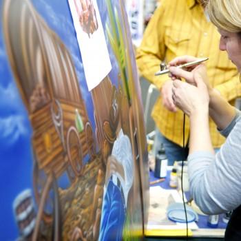 Auto Painting an der Viva Uetikon 2013